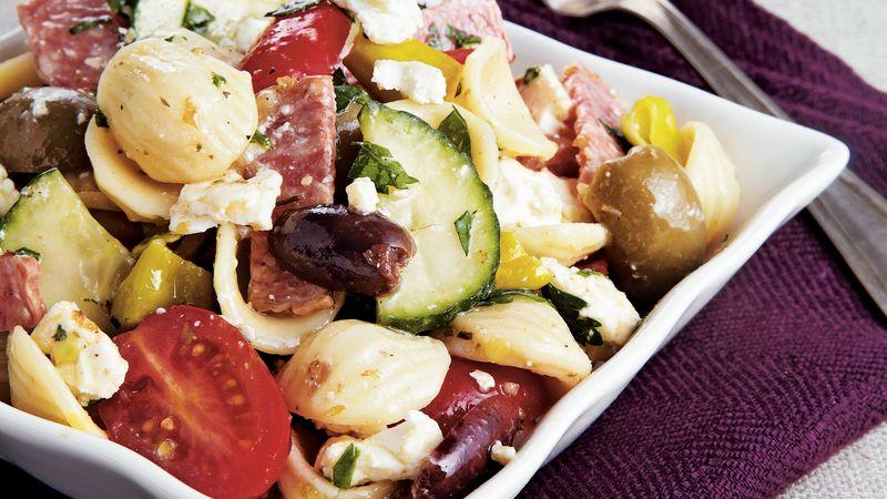 Marinated Greek Style Pasta