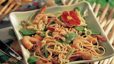 Peanutty Shrimp Stir-Fry