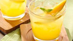 Margarita de Mango con Albahaca Tailandesa