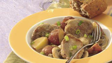 Pork Diane Skillet Supper
