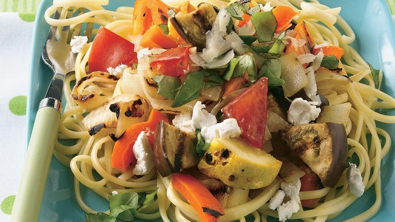 Grilled Summer Vegetable Pasta