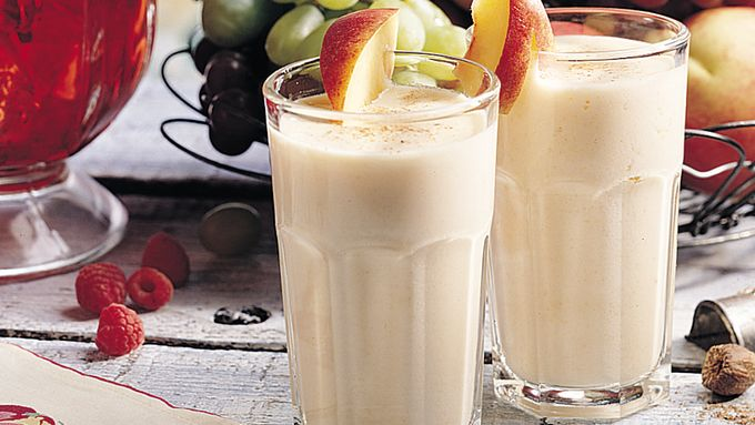 Peachy Yogurt Cooler