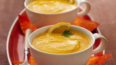 Slow-Cooker Gingered Carrot Soup