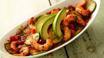 Spicy Shrimp Ceviche