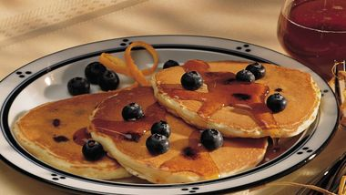 Easy Blueberry Pancakes