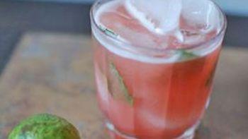 Guava Basil Daiquiri