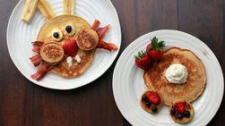 Easter Bunny Pancake Breakfast