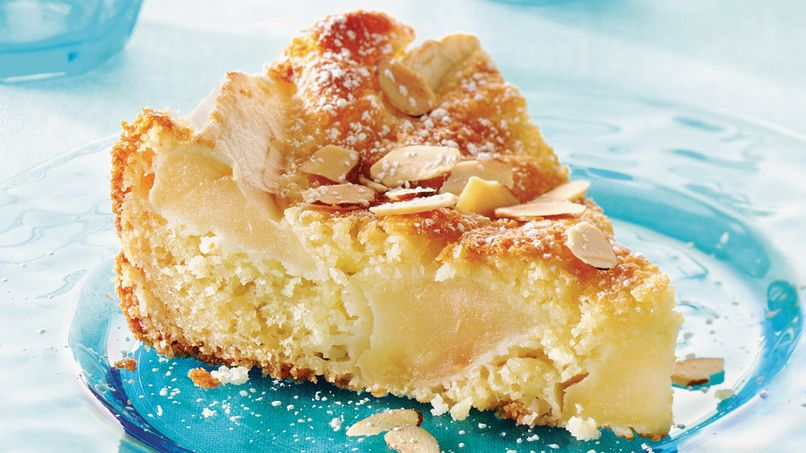 Pastel Danés de Manzana y Almendras