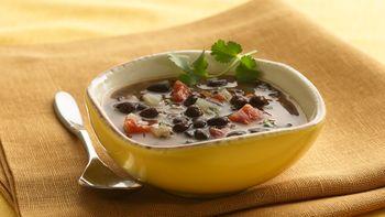 Healthy Southwest Black Bean Soup