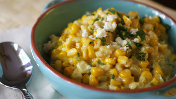 Mexican Lime-Cream Corn