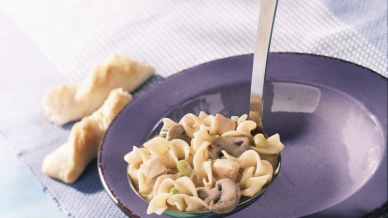 Creamy Chicken and Noodle Stew
