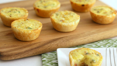 Gluten-Free Vegetable Mini Quiches