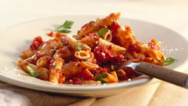Penne with Spicy Sauce