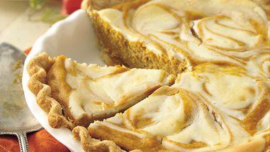 Pumpkin-Cream Cheese Pie