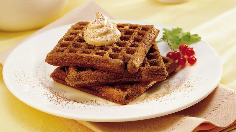 Tiramisu Waffles recipe - from Tablespoon!
