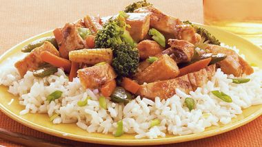Spicy Chicken and Vegetable Stir-Fry