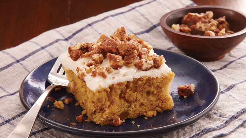 Sweet Potato Praline Cake