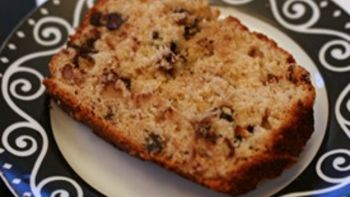 Chocolate Chip Banana Nut Bread