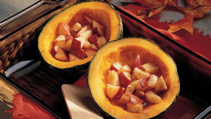 Buttercup Squash with Apples (Cooking for 2)
