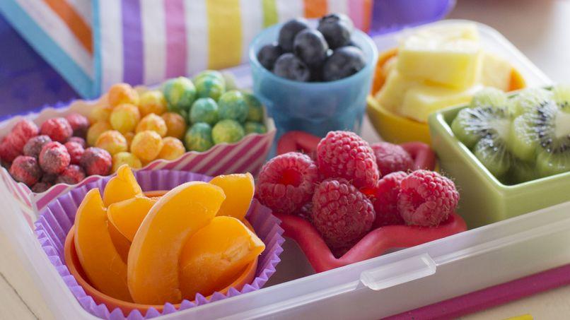 Caja Bento Arcoíris para el Desayuno