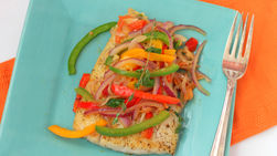 Fish in Peperonata Sauce