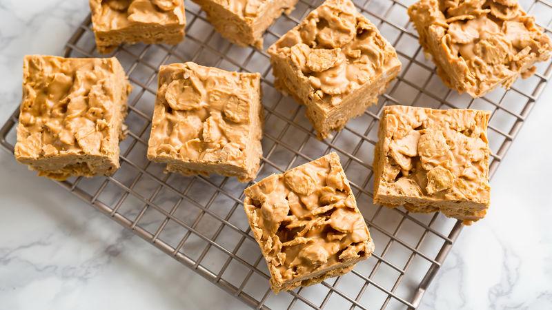 No-Bake Peanut Butter Snack Bars