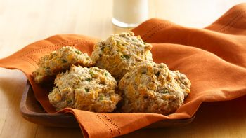 Cheese and Onion Drop Biscuits