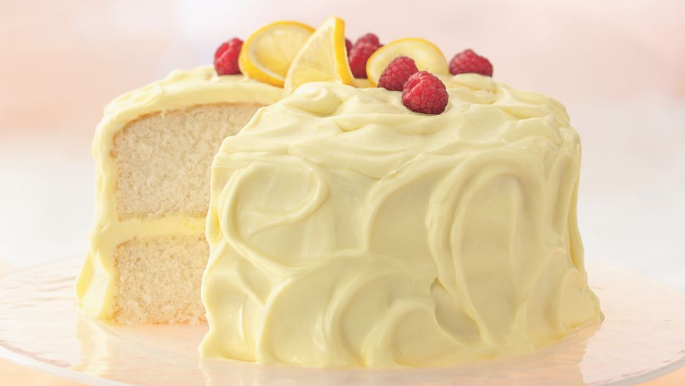 Lemon Mousse Cake Recipe From Pillsbury Com
