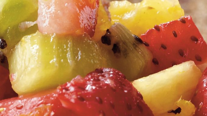 Fruity Breakfast Bruschetta