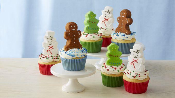 PEEPS® Christmas Cupcakes