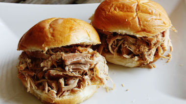 Slow-Cooker Kalua Pork Sandwiches