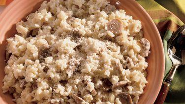 Quick Mushroom Risotto
