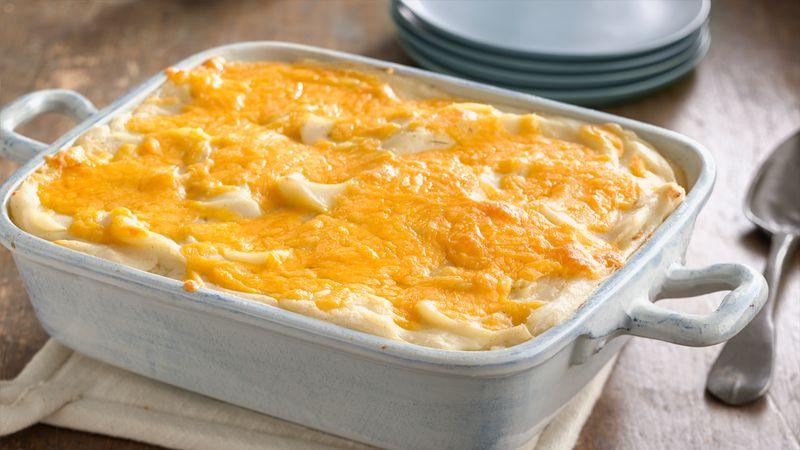 Easy Mashed Potato Casserole