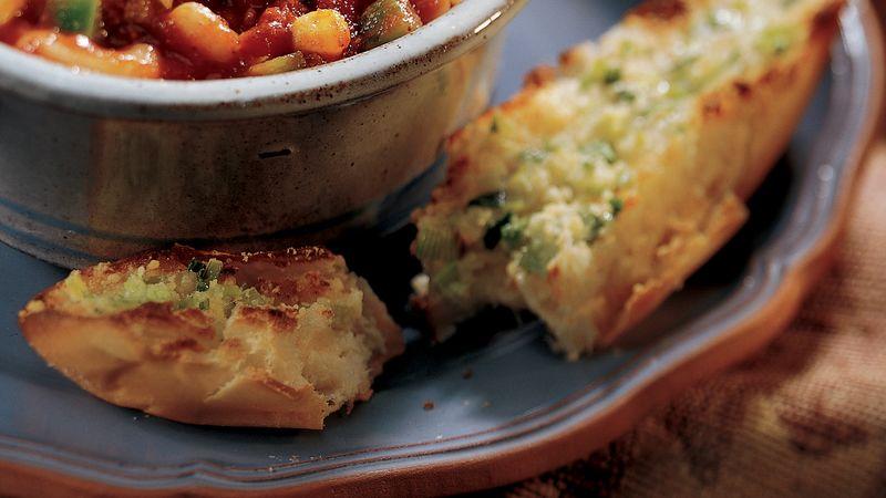 Ranch-Parmesan Cheese Toasts