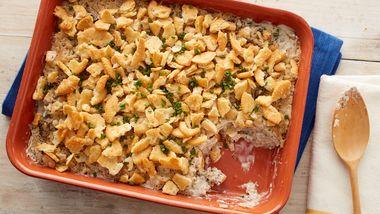 Ritz™ Cracker Cream Cheese Chicken Bake