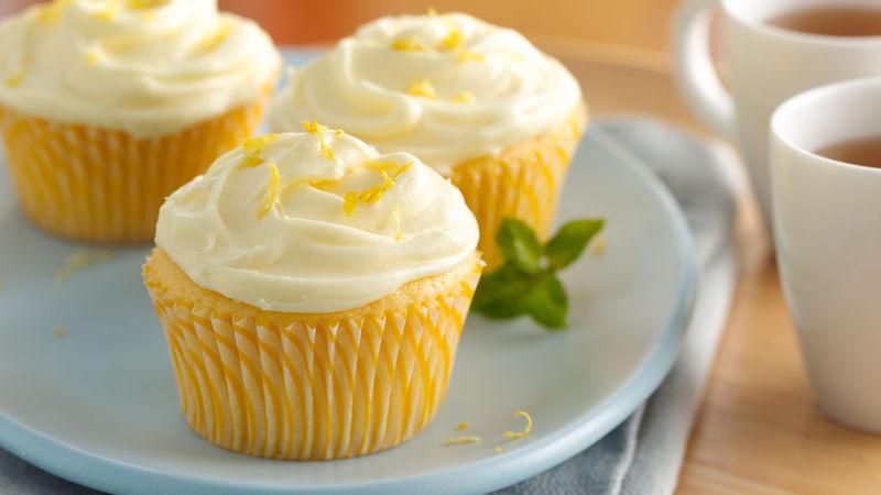 Creamy Dreamy Lemonade Cupcakes