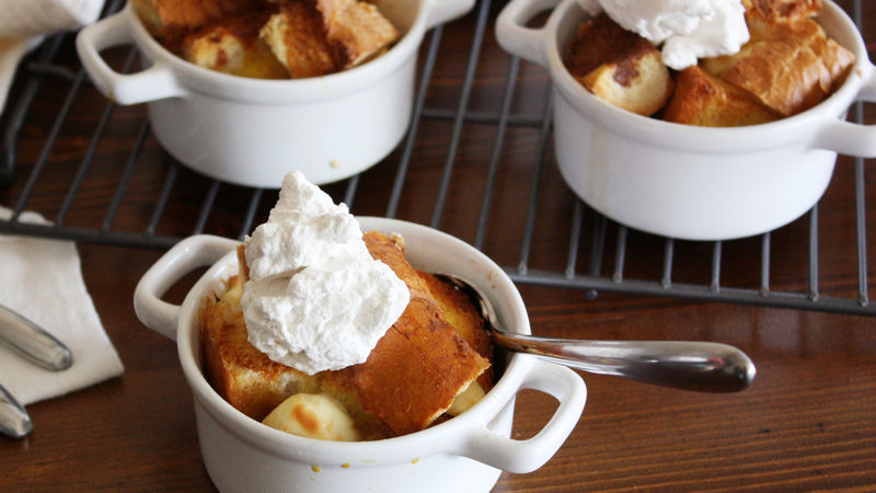 Peaches and Cream French Toast Casserole