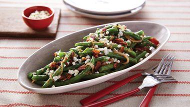 Sautéed Green Beans and Shallots