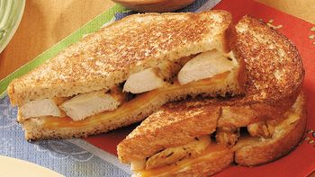 Southwestern Chicken and Cheese Sandwiches