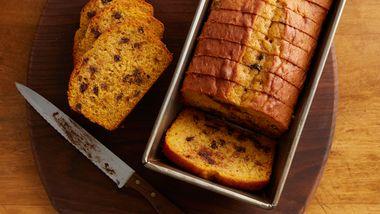 Easy Pumpkin-Banana Bread