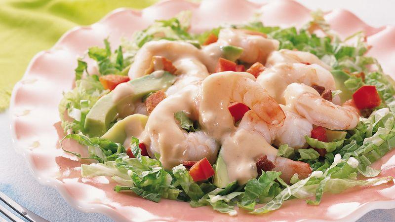Shrimp Louis Platter Salad