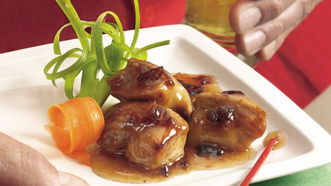 Slow-Cooker Plum-Glazed Riblets