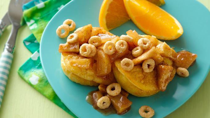 Mini German Pancake Puffs with Cinnamon Apples