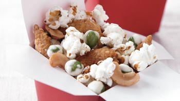 Sesame-Ginger Popcorn Snack