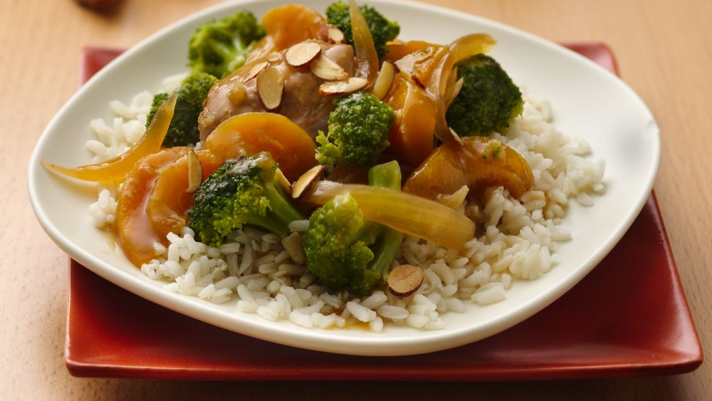 Slow-Cooker Gingered Broccoli Chicken