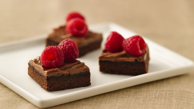 Berry-Topped Brownie Bites
