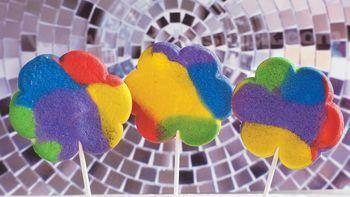 Flower Power Cookie Pops