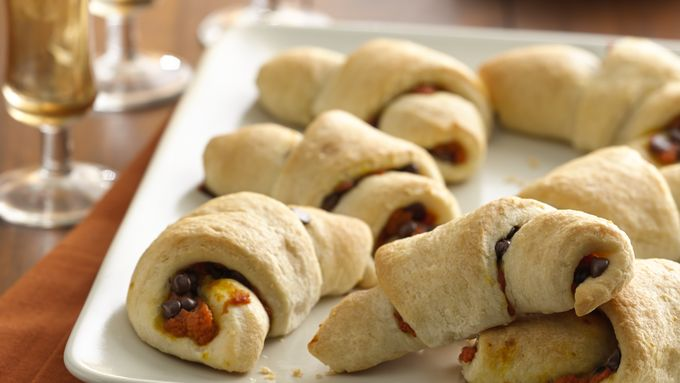 Chocolate Pumpkin Pie Crescents