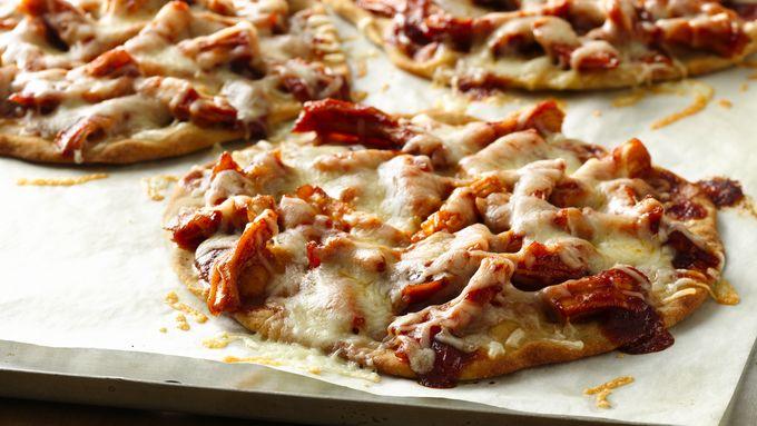 Gluten-Free Barbecue Chicken Mini Pizzas