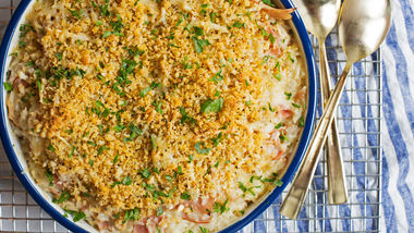 Chicken Cordon Bleu Rice Casserole